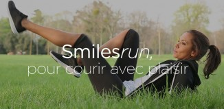 Smilesrun, l'application de Karine LeMarchand