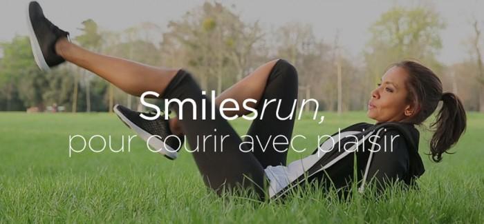 Smilesrun, l'application de Karine LeMarchand